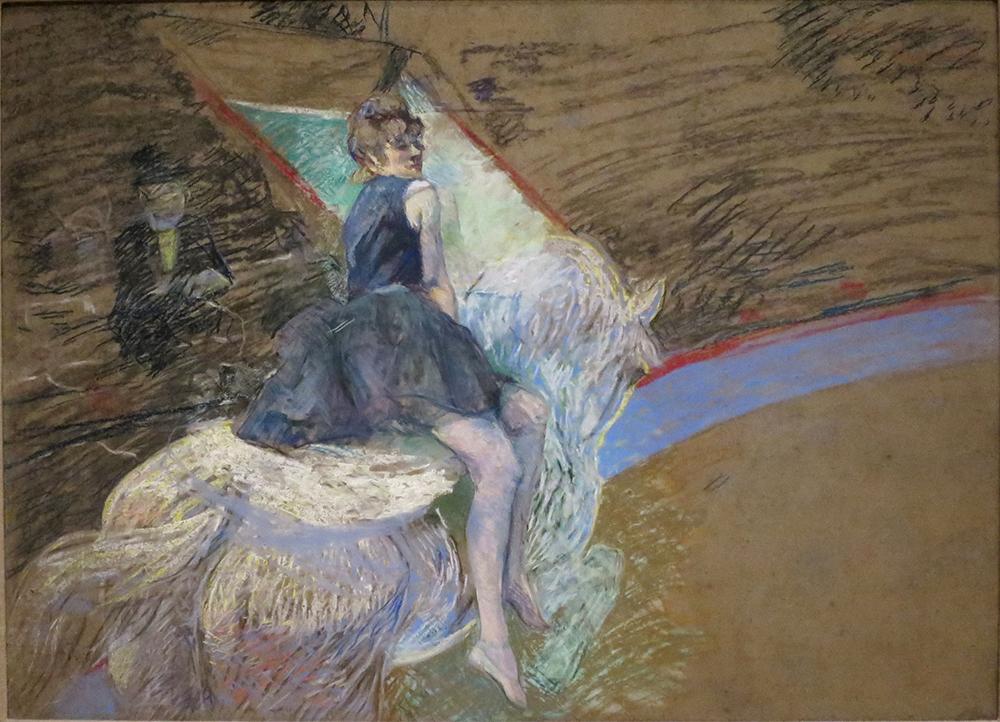 Rider on a White Horse Henri de Toulouse-Lautrec
