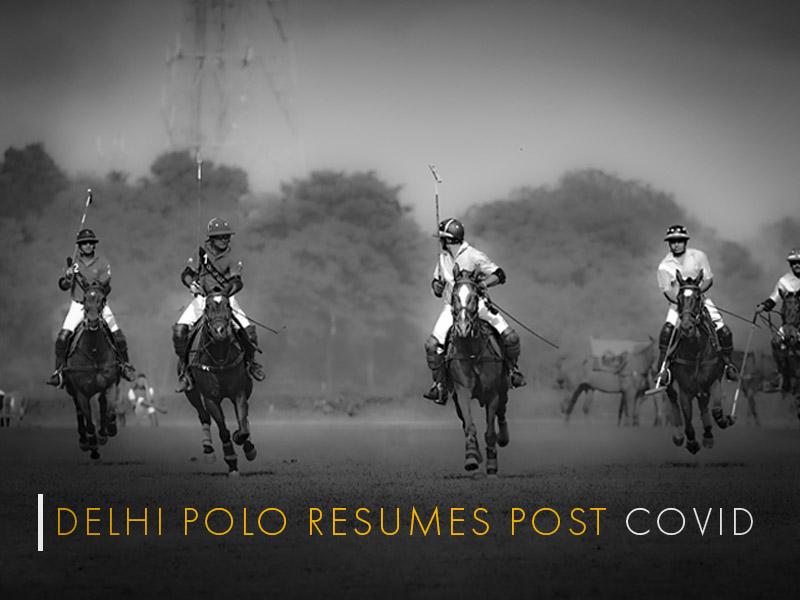 Polo in Delhi post Covid - Bhopal Pataudi Polo Cup